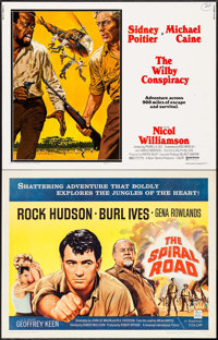"""The Spiral Road & Others Lot (Universal International, 1962). Half Sheets (3) (22"""" X 28""""). Adventure..."""