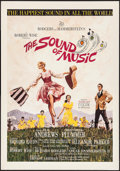"Movie Posters:Academy Award Winners, The Sound of Music (20th Century Fox, 1965). Trimmed Window Card(14"" X 22""). Academy Award Winners.. ..."