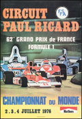 Movie Posters:Sports, 62nd Grand Prix de France at Circuit Paul Ricard (Federation Francaise du Sport Automobile/Marlboro, 1976). French Petite (1...