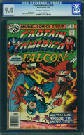 Bronze Age (1970-1979):Superhero, Captain America #199 - WESTPORT COLLECTION (Marvel, 1976) CGC NM9.4 Off-white to white pages.