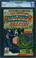 Bronze Age (1970-1979):Superhero, Captain America #207 - WESTPORT COLLECTION (Marvel, 1977) CGC NM9.4 White pages.