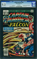 Bronze Age (1970-1979):Superhero, Captain America #209 - WESTPORT COLLECTION (Marvel, 1977) CGC NM-9.2 White pages.