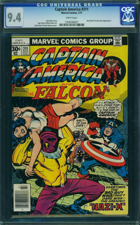 Captain America #211 - WESTPORT COLLECTION (Marvel, 1977) CGC NM 9.4 White pages
