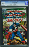 Bronze Age (1970-1979):Superhero, Captain America #214 - WESTPORT COLLECTION (Marvel, 1977) CGC NM+9.6 White pages.