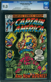 Captain America #243 (Marvel) CGC VF/NM 9.0 White pages