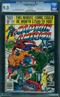 Modern Age (1980-Present):Superhero, Captain America #249 (Marvel, 1980) CGC VF/NM 9.0 White pages.