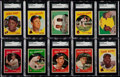Baseball Cards:Sets, 1959 Topps Baseball Near Set (492/572)....