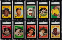 1959 Topps Baseball Near Set (492/572)