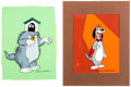 Animation Art:Presentation Cel, Heathcliff and Mighty Man Yukk and Dingbat PublicityCels Group of 2 (Ruby-Spears, c. 1980s).... (Total: 2 Original Art)