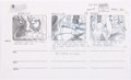 Animation Art:Production Drawing, Spider-Man Storyboard Drawings Group of 6 (Marvel, 1994)....(Total: 6 Original Art)