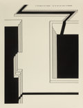 Prints, Robert Morris (b. 1931). In the Realm of the Carceral portfolio (ten works), 1978-79. Etching and aquatint on heavy wove...