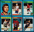 Hockey Cards:Sets, 1979 Topps Hockey Complete Set (264). ...