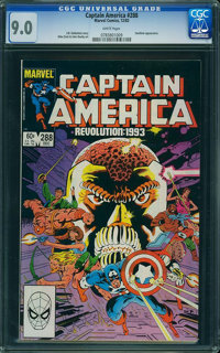 Captain America #288 (Marvel, 1983) CGC VF/NM 9.0 White pages