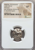Ancients:Greek, Ancients: CILICIA. Celenderis. Ca. 425-350 BC. AR stater. NGC VF....