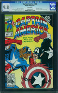 Modern Age (1980-Present):Superhero, Captain America #408 - WESTPORT COLLECTION (Marvel) CGC NM/MT 9.8 White pages.