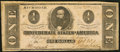 Confederate Notes:1862 Issues, T55 $1 1862 PF-5 Cr. 397B.. ...