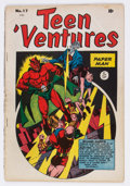 Golden Age (1938-1955):Miscellaneous, Teen 'Ventures #17 (Bell Features, 1946) Condition: GD/VG....