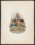 "Movie Posters:Animation, Snow White and the Seven Dwarfs (RKO, 1937). Program (32 Pages, 10""X 13""). Animation.. ..."
