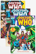 Modern Age (1980-Present):Science Fiction, Doctor Who #1-23 Complete Series Group (Marvel, 1984-86) Condition:Average NM.... (Total: 25 Comic Books)