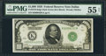 Fr. 2210-K $1,000 1928 Federal Reserve Note. PMG About Uncirculated 55 Net