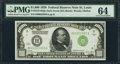 Small Size:Federal Reserve Notes, Fr. 2210-H $1,000 1928 Federal Reserve Note. PMG Choice Uncirculated 64.. ...