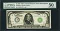 Fr. 2210-I $1,000 1928 Federal Reserve Note. PMG About Uncirculated 50