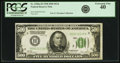Small Size:Federal Reserve Notes, Fr. 2200-H $500 1928 Federal Reserve Note. PCGS Extremely Fine 40.. ...