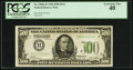 Fr. 2200-B $500 1928 Federal Reserve Note. PCGS Extremely Fine 40