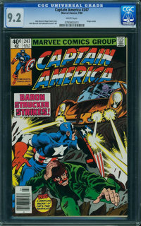 Captain America #247 (Marvel, 1980) CGC NM- 9.2 White pages