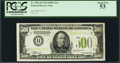 Small Size:Federal Reserve Notes, Fr. 2201-B $500 1934 Light Green Seal Federal Reserve Note. PCGS About New 53.. ...
