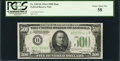 Small Size:Federal Reserve Notes, Fr. 2202-B $500 1934A Federal Reserve Note. PCGS Choice About New 58.. ...
