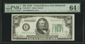 Small Size:Federal Reserve Notes, Fr. 2105-E* $50 1934C Federal Reserve Note. PMG Choice Uncirculated 64 EPQ.. ...