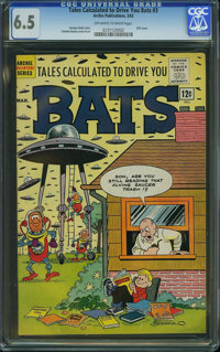 Tales Calculated To Drive You Bats #3 (Archie, 1962) CGC FN+ 6.5 Off-white to white pages
