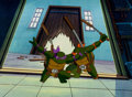 Animation Art:Production Cel, Teenage Mutant Ninja Turtles Donatello and MichelangeloProduction Cel and Animation Drawing (MWS, 1987-94).... (Total: 2 )