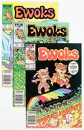 Modern Age (1980-Present):Humor, Ewoks #1-9 Group (Marvel, 1985-87) Condition: Average NM-....(Total: 9 Comic Books)