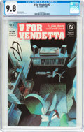 Modern Age (1980-Present):Miscellaneous, V For Vendetta #2 (DC, 1988) CGC NM/MT 9.8 White pages....
