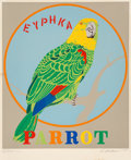 Prints:Contemporary, Robert Indiana (b. 1928). Parrot, from the Decadeportfolio, 1971. Screenprint in colors . 35-1/2 x 30-5/8 inches(9...