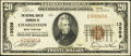 National Bank Notes:West Virginia, Charleston, WV - $20 1929 Ty. 1 The NB of Commerce Ch. # 13509. ...