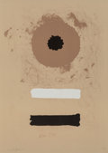 Prints:Contemporary, Adolph Gottlieb (1903-1974). Two Bars, 1969. Lithograph incolors on Arches paper. 29-1/2 x 21 inches (74.9 x 53.3 cm) (...
