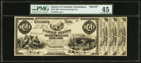 Fr. 204 1863 $100 Interest Bearing Note Face Proof Hessler HX-138D. PMG Choice Extremely Fine 45