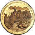 "Mexico, Mexico: Republic gold ""Mexico City Anniversary"" Medallic 50 Pesos1965 MS68 NGC,..."