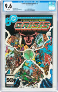 Modern Age (1980-Present):Superhero, Crisis on Infinite Earths #3 (DC, 1985) CGC NM+ 9.6 White pages....
