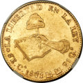 Mexico, Mexico: Republic gold 8 Escudos 1871/61 Ca-MM XF Details (SurfaceHairlines) NGC,...