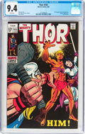 Silver Age (1956-1969):Superhero, Thor #165 (Marvel, 1969) CGC NM 9.4 White pages....