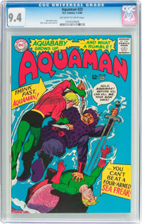Aquaman #25 (DC, 1966) CGC NM 9.4 Off-white to white pages