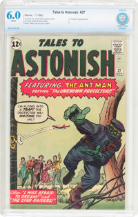 Tales to Astonish #37 (Marvel, 1962) CBCS FN 6.0 White pages