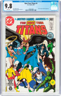 Modern Age (1980-Present):Superhero, New Teen Titans #4 (DC, 1981) CGC NM/MT 9.8 White pages....