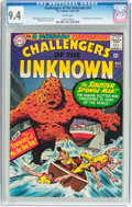 Silver Age (1956-1969):Adventure, Challengers of the Unknown #47 (DC, 1966) CGC NM 9.4 White pages....