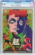 Silver Age (1956-1969):Superhero, Doom Patrol #118 (DC, 1968) CGC NM 9.4 Off-white to white pages....