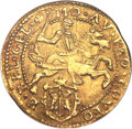 Netherlands:Gelderland, Netherlands: Gelderland. Provincial gold 1/2 Cavalier d'or 1619MS62 NGC,...